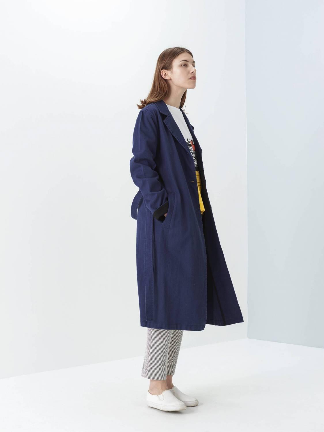 Manteau de travail en sergé