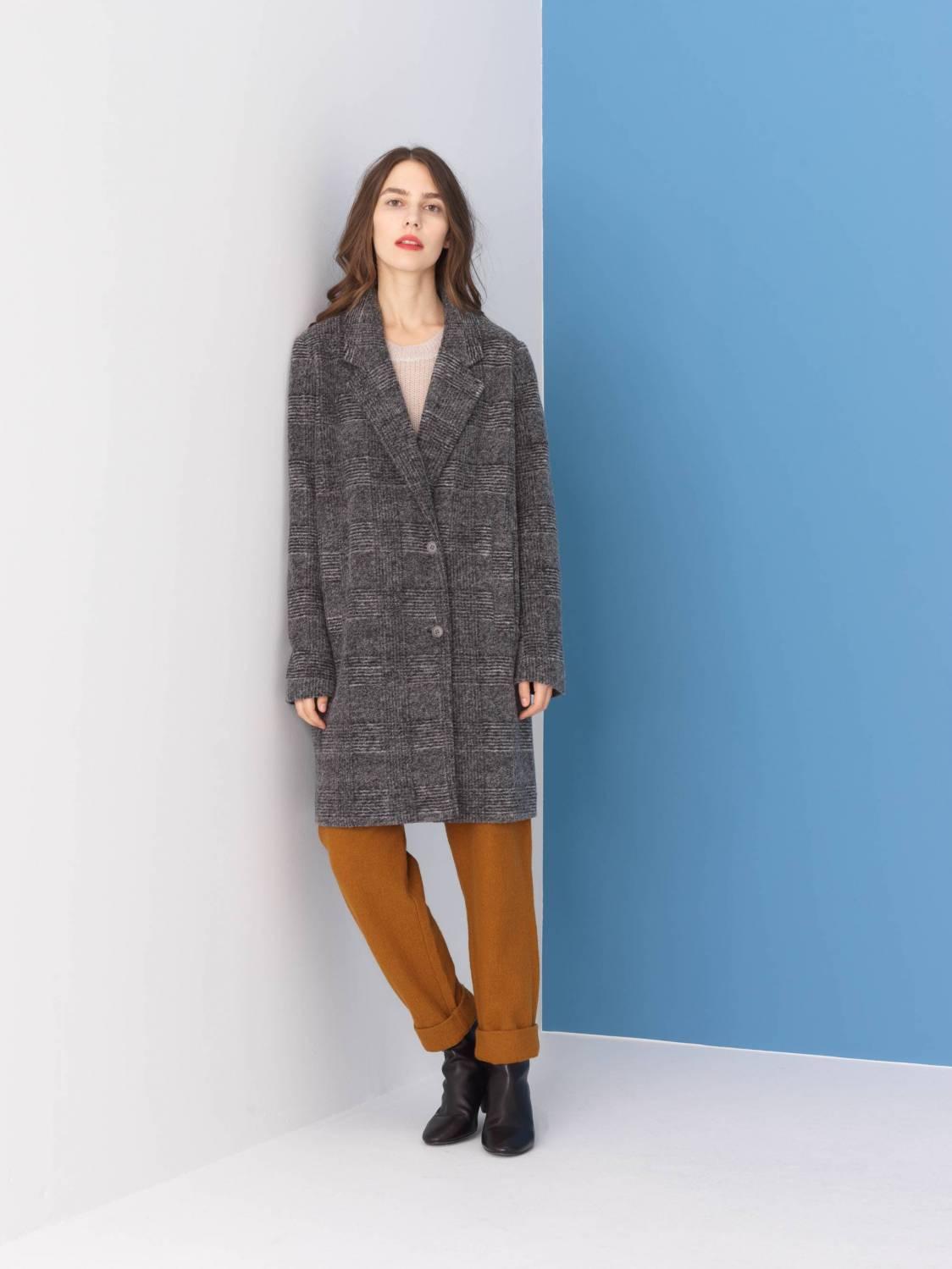 Manteau tartan