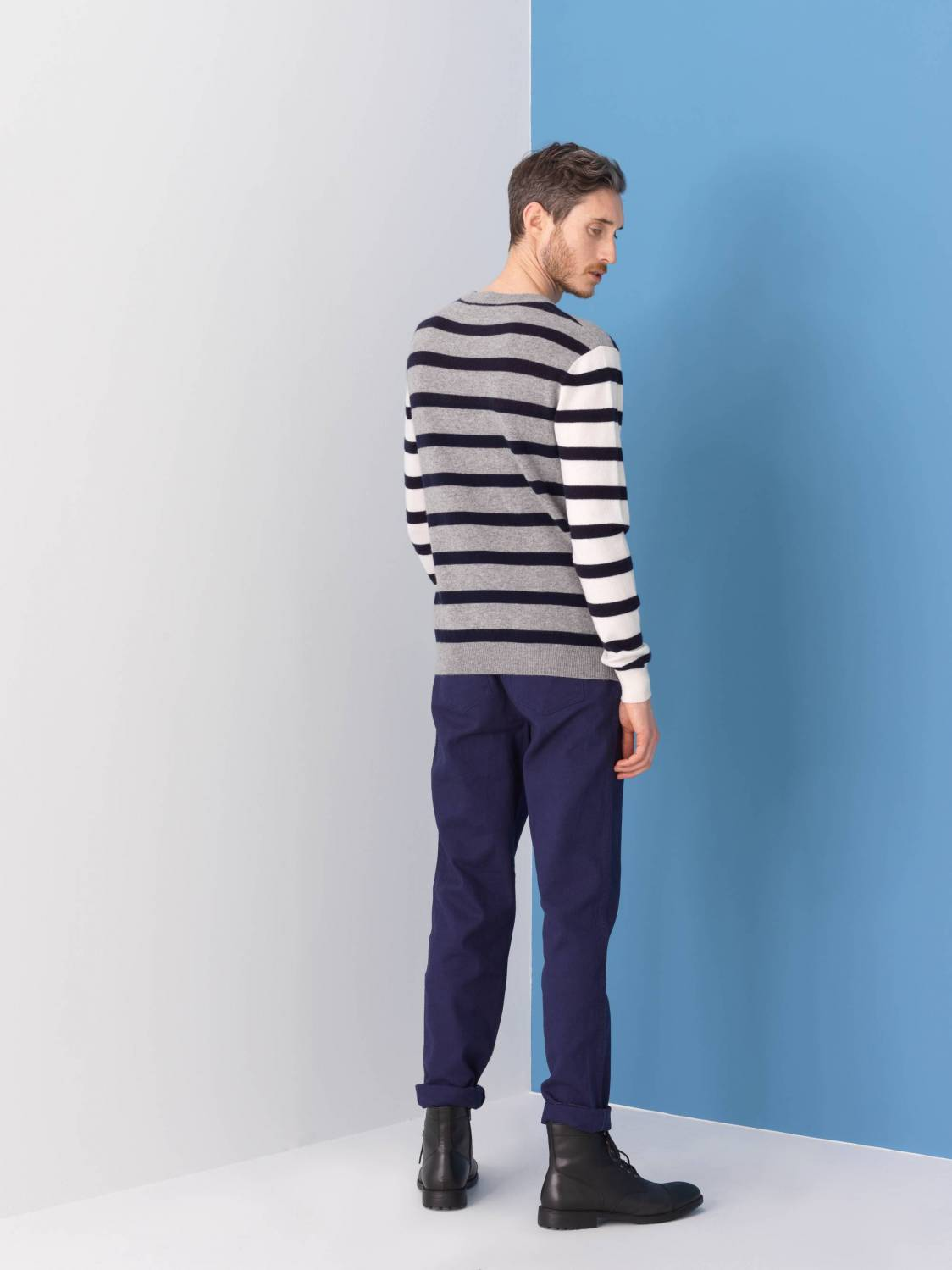 Striped Cashmere Sweater