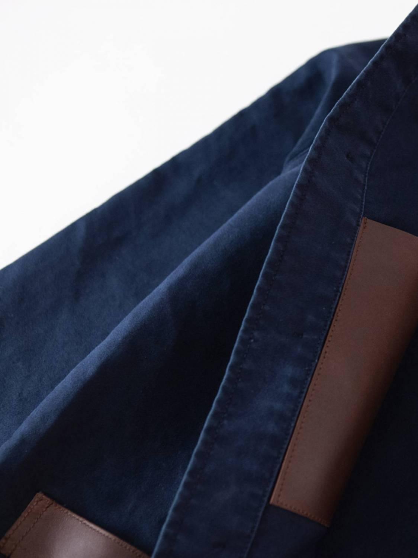Veste de Travail empiècements cuir