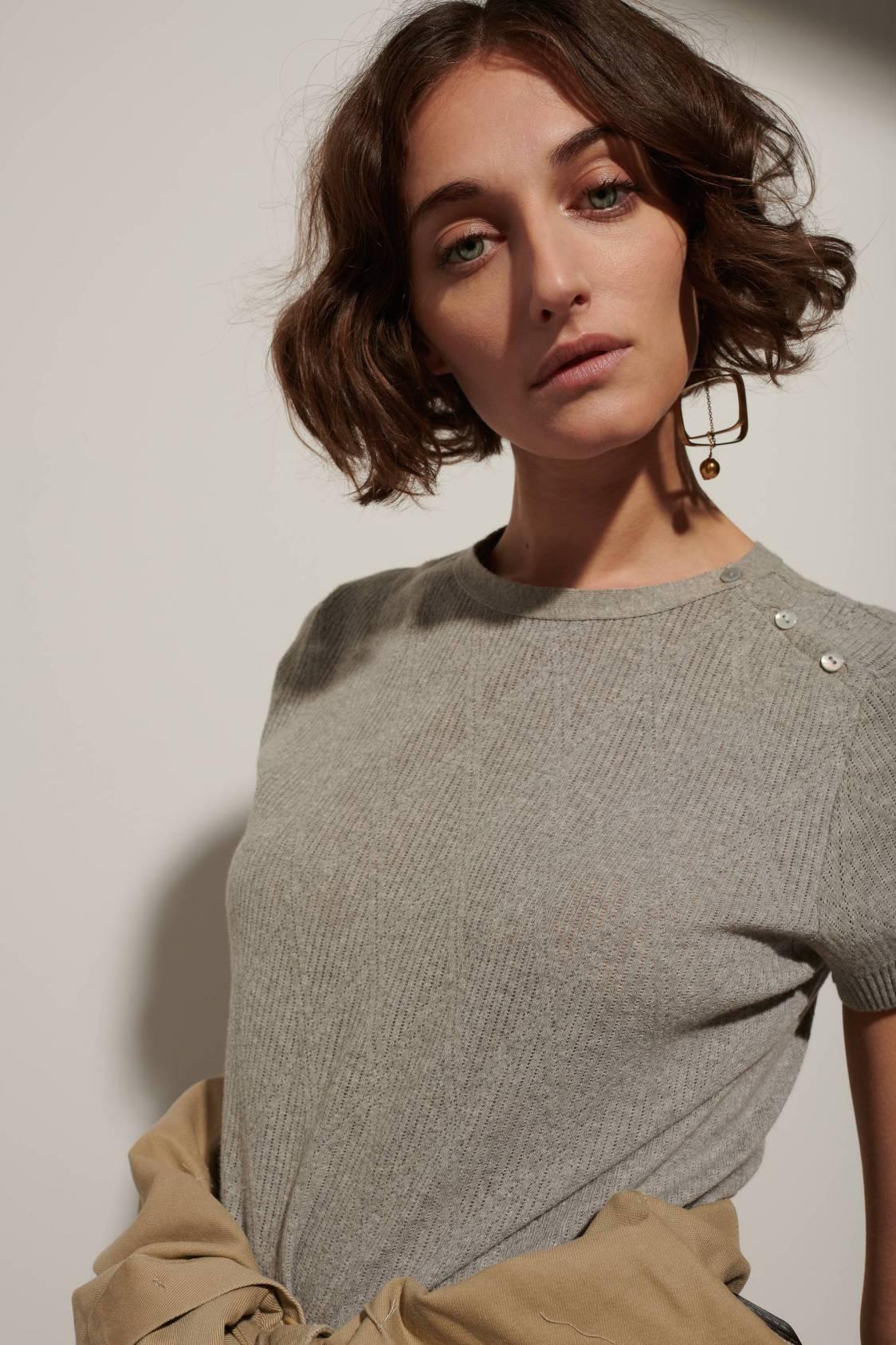 Triangle Jacquard Sweater