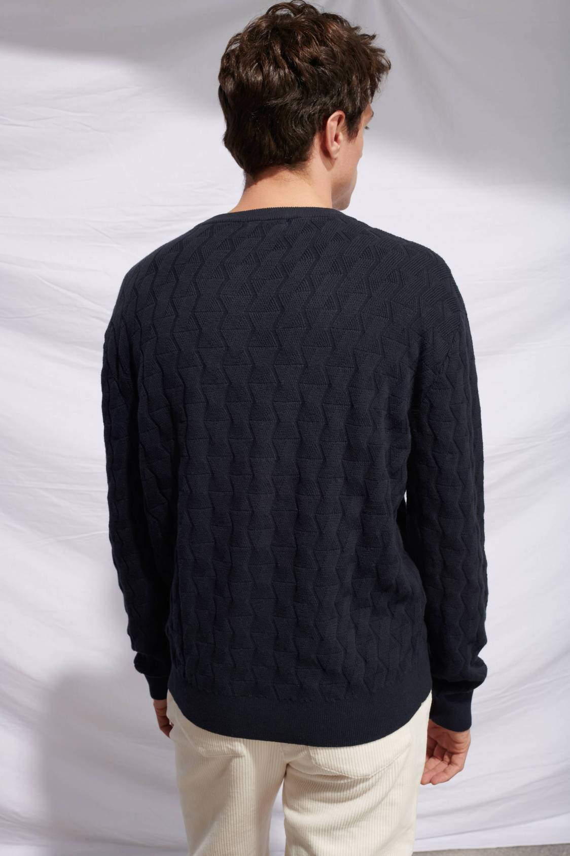 Cross Knit Sweater