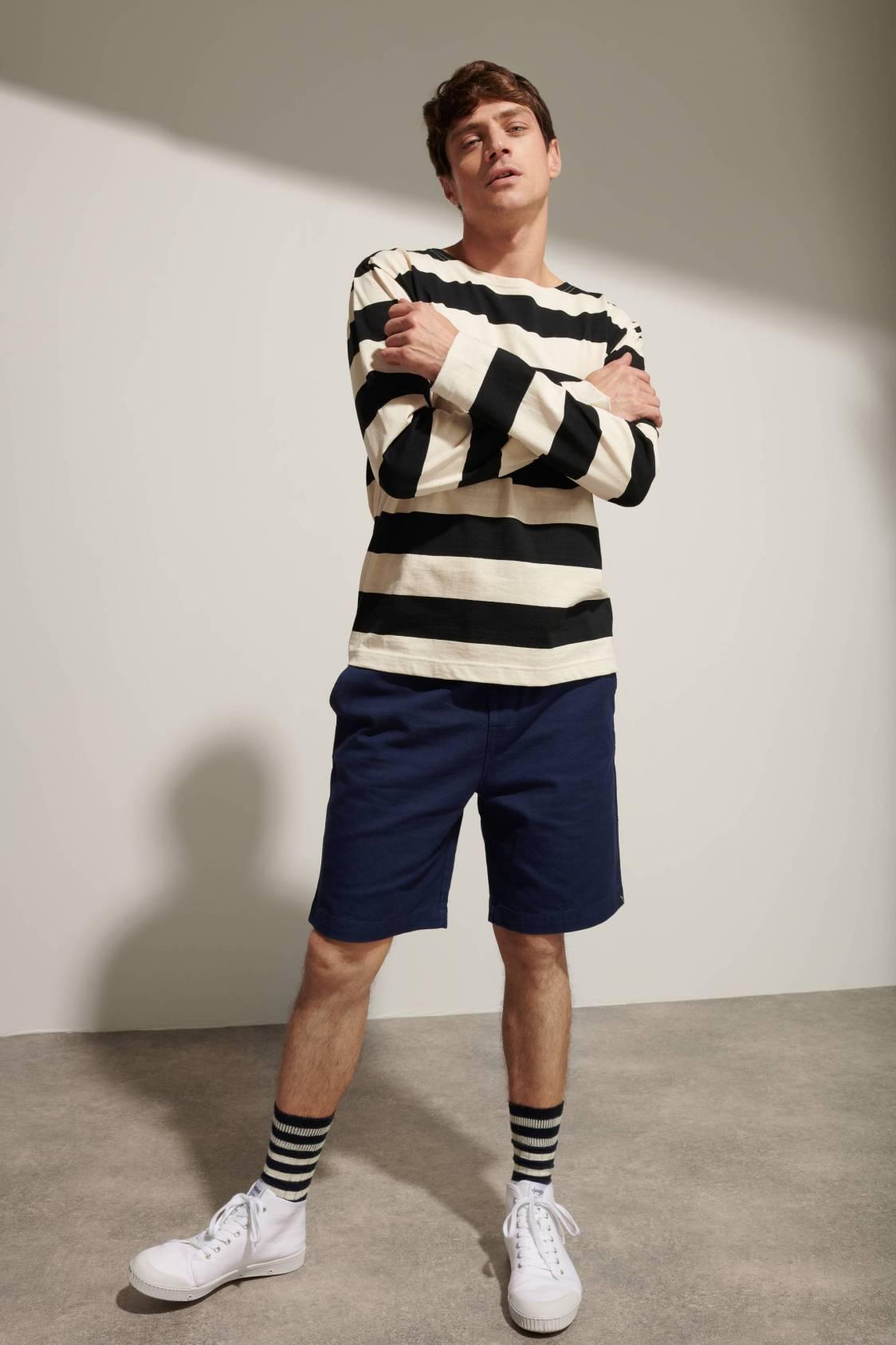 Large-breton-stripe T-Shirt