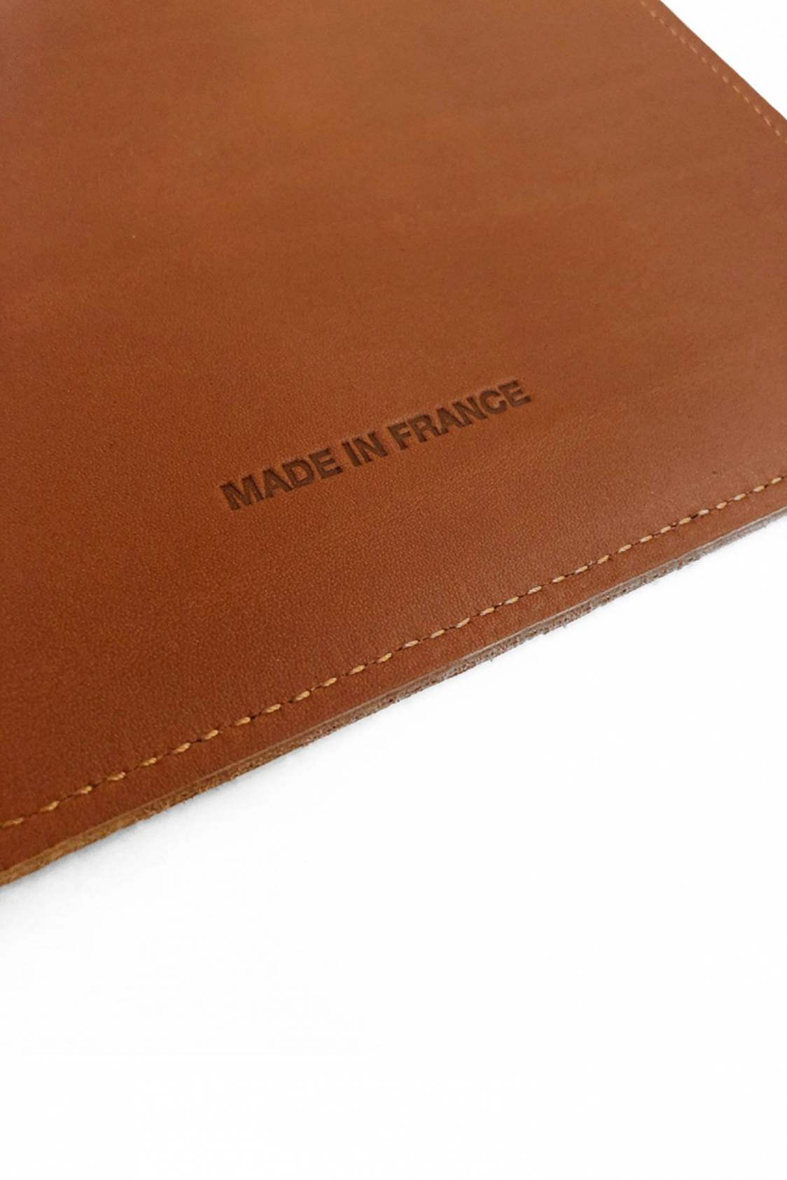 Etui iPad en cuir