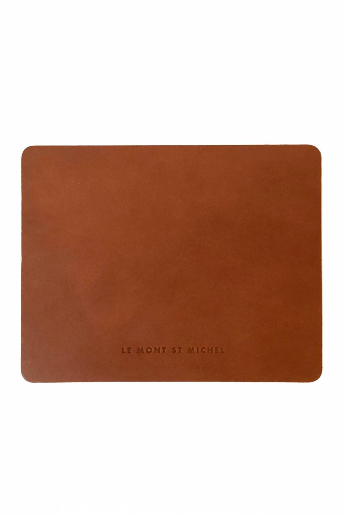 Mousepad in leather