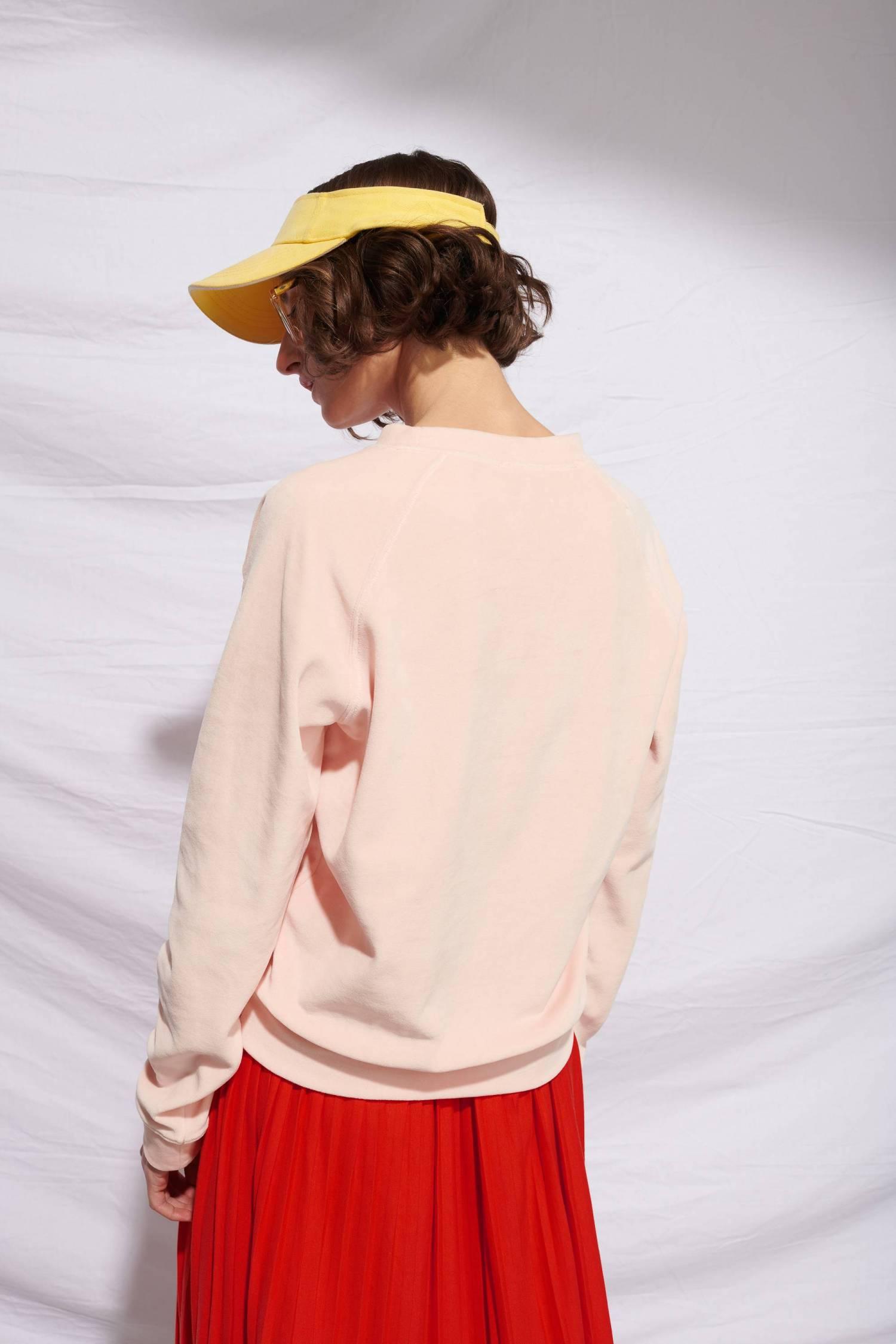 Sweatshirt en éponge