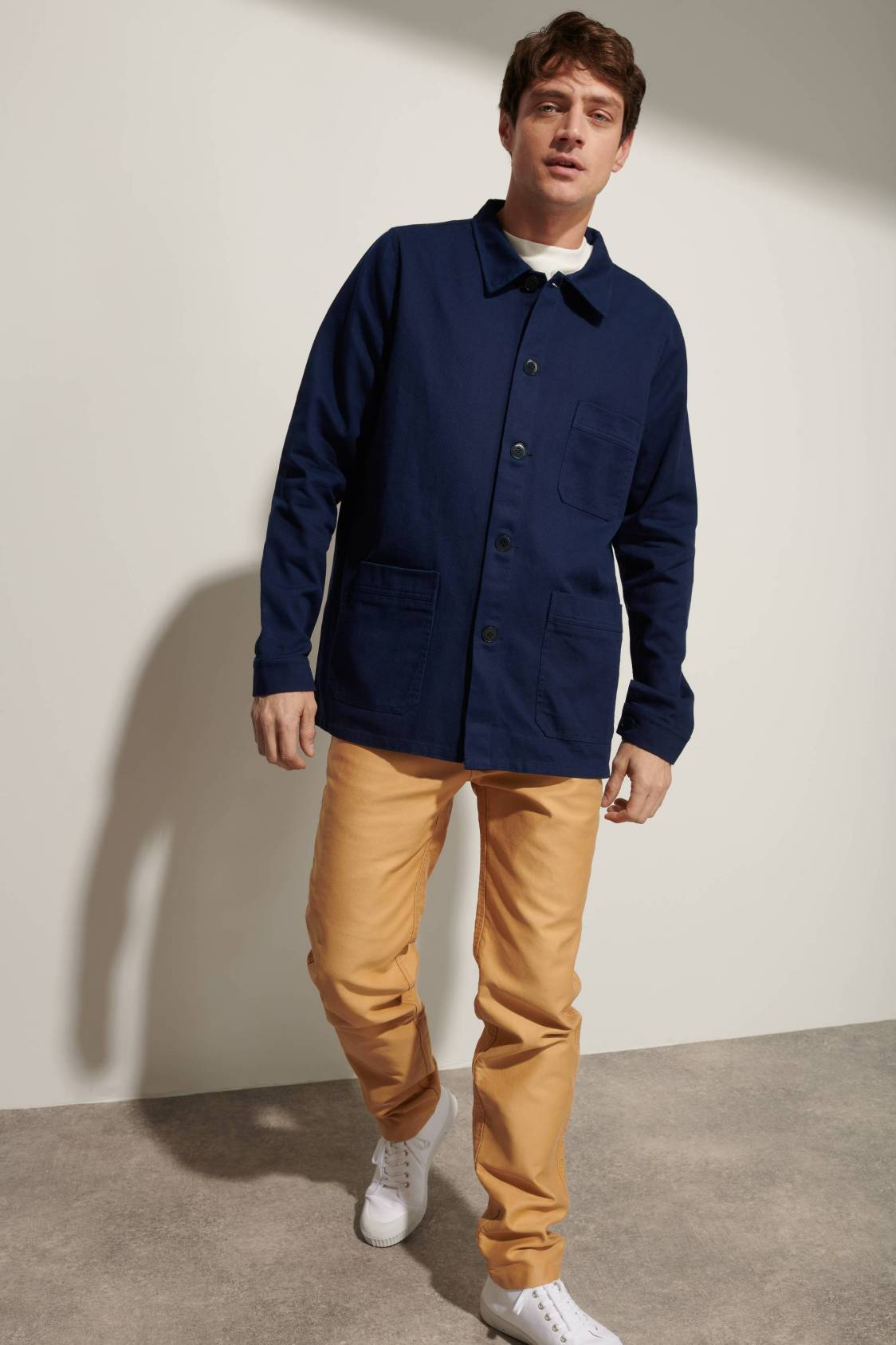 Cotton Twill Work Jacket