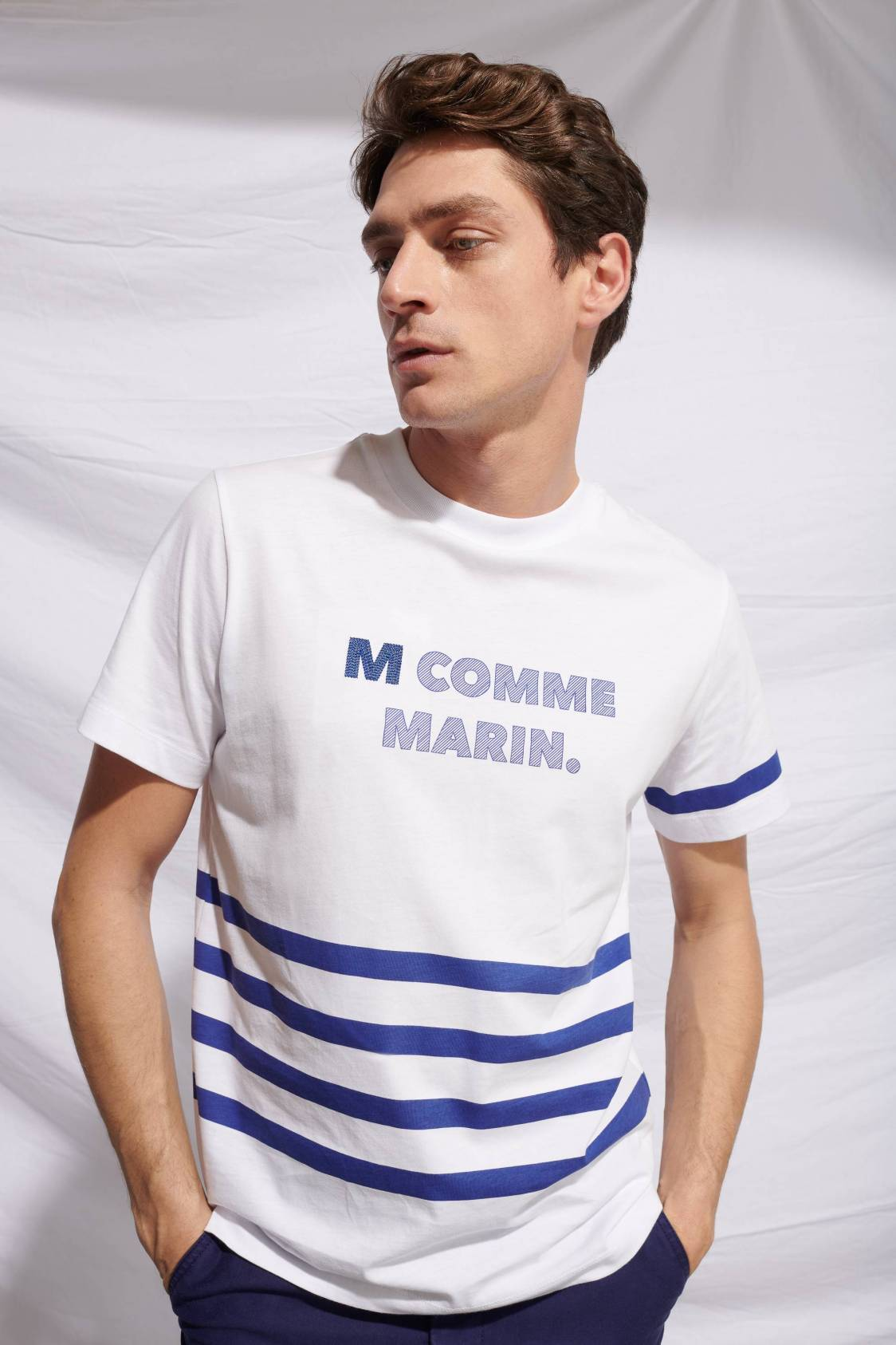 T-Shirt M comme Marin