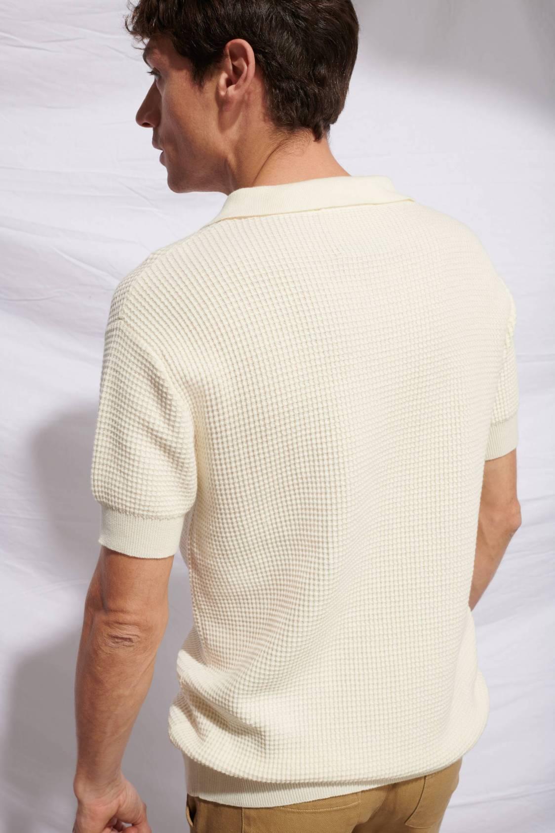 Élémentaire Honeycomb Polo Sweater