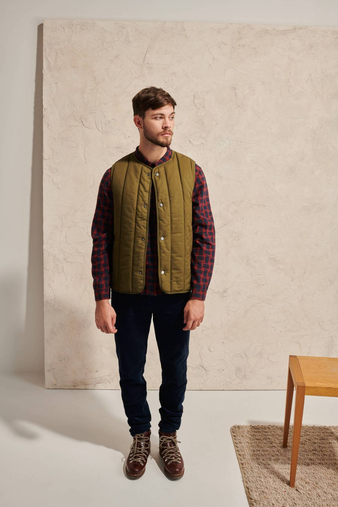 Sleeveless Quilting Bomber