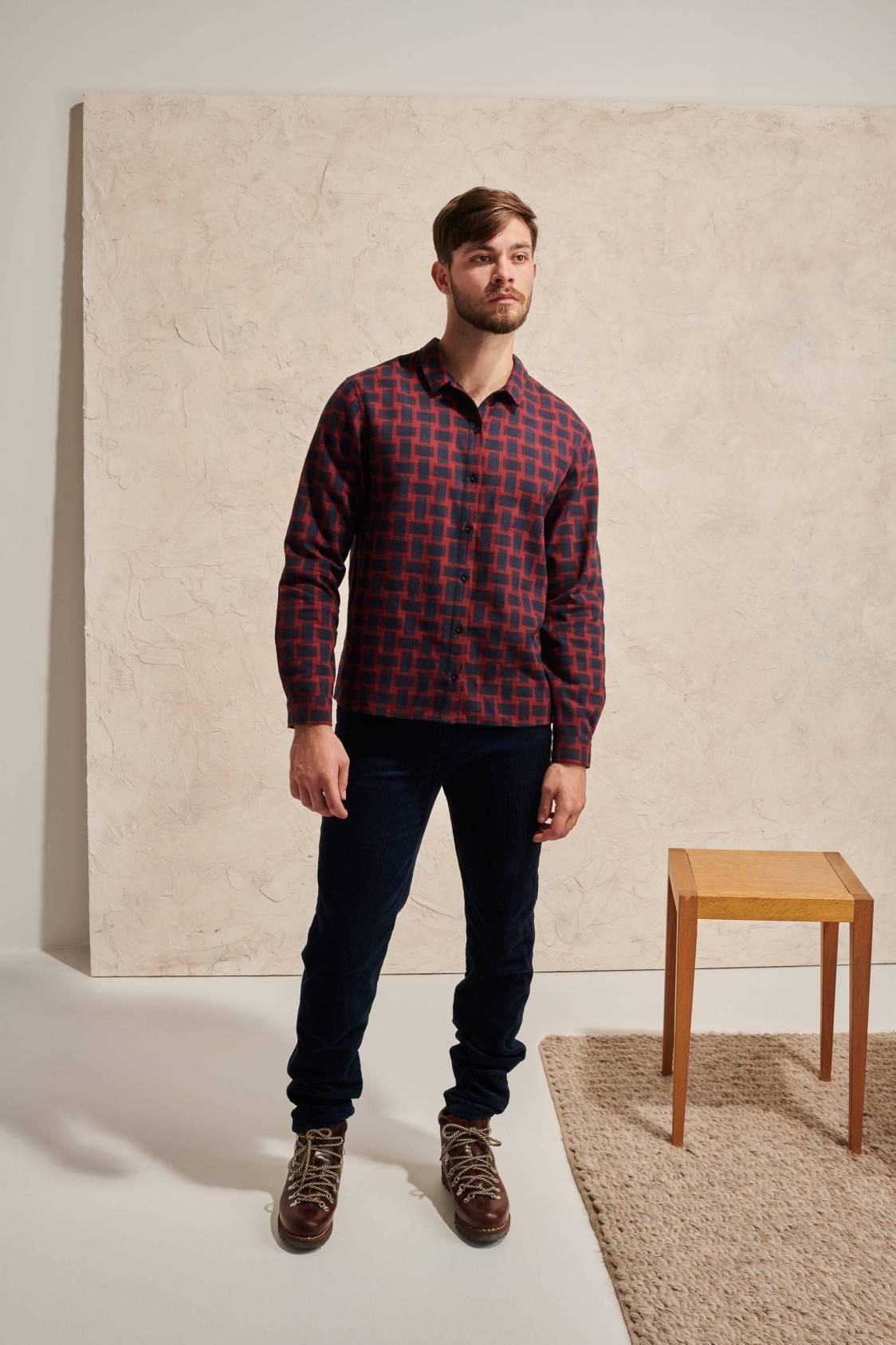 Illusion Check Shirt