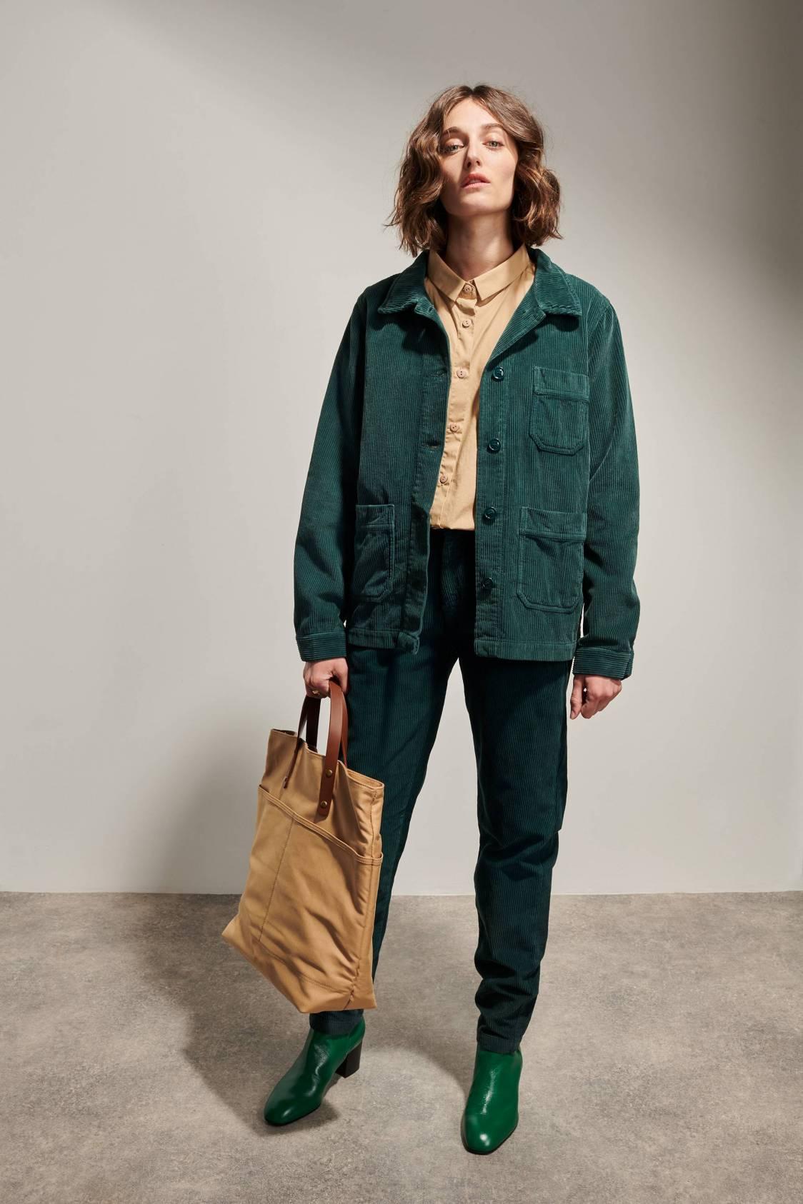 Corduroy Work Jacket