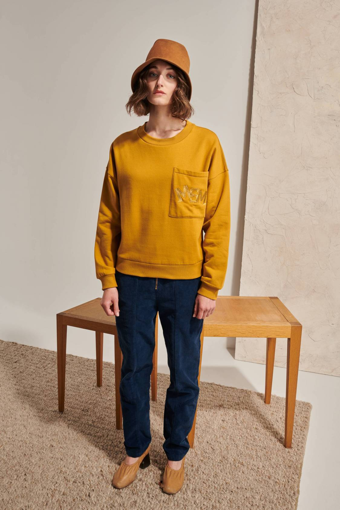 Sweatshirt brodé