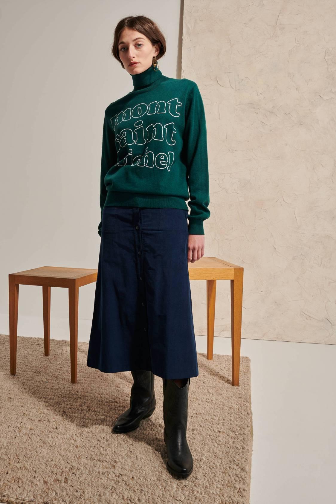 Screen-printed Sweater