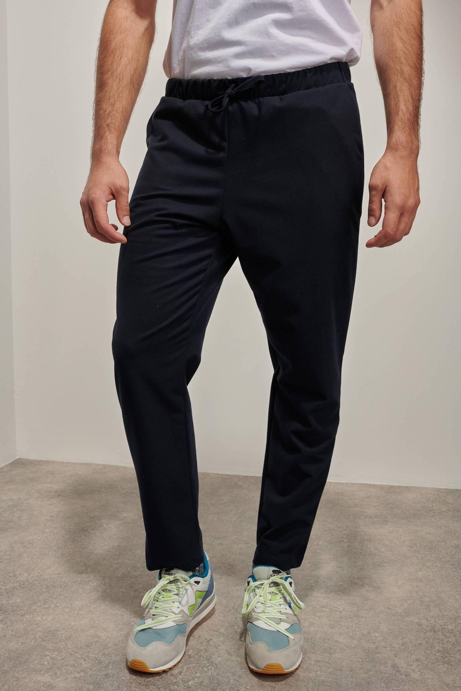 Woolen Drawstring Trousers