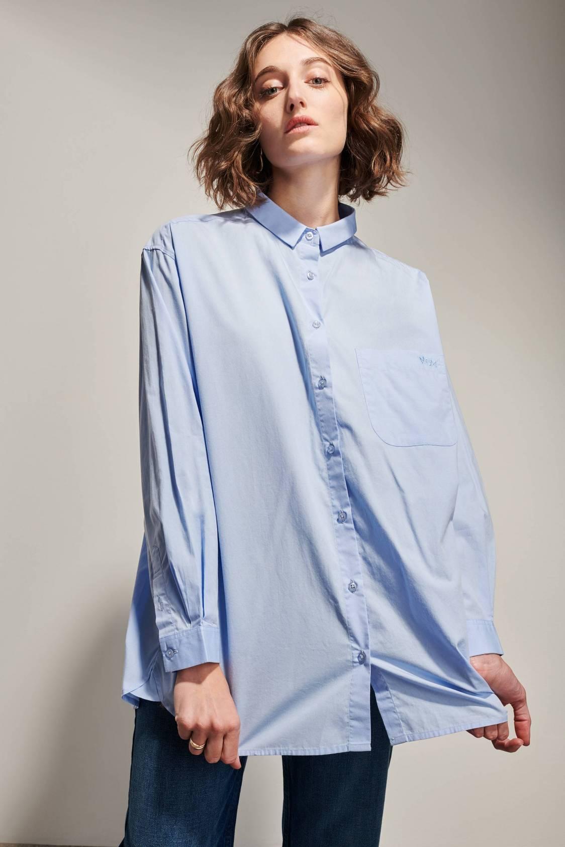 Poplin Oversized Shirt