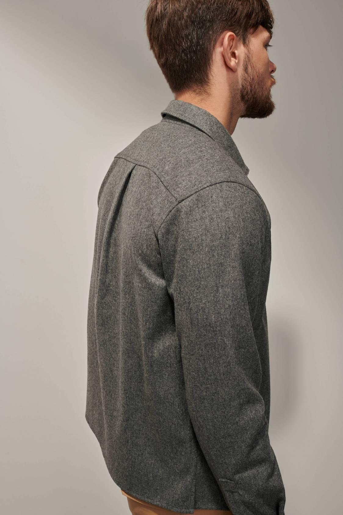 Wool Overshirt