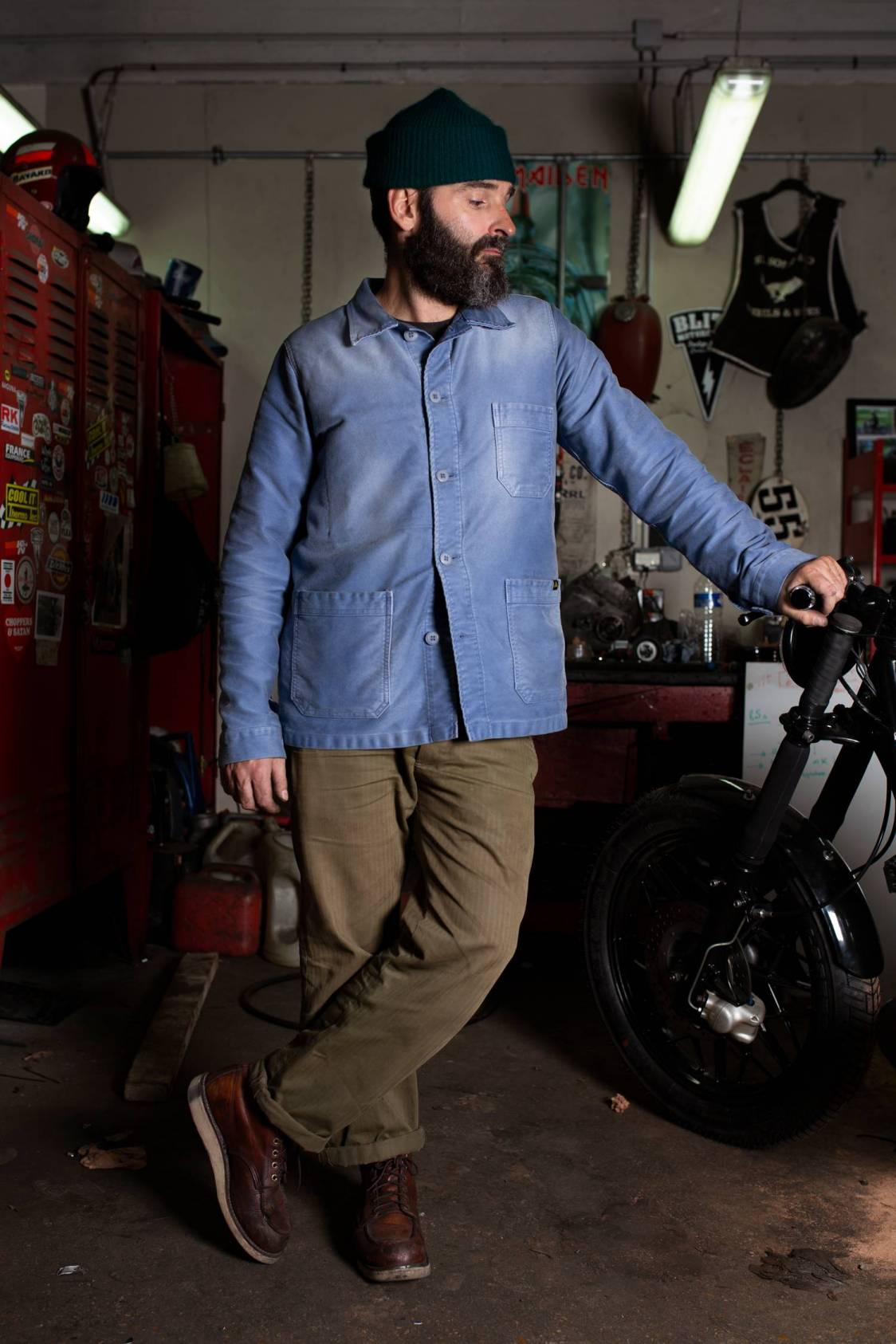 Blitz Motorcycles Work Jacket