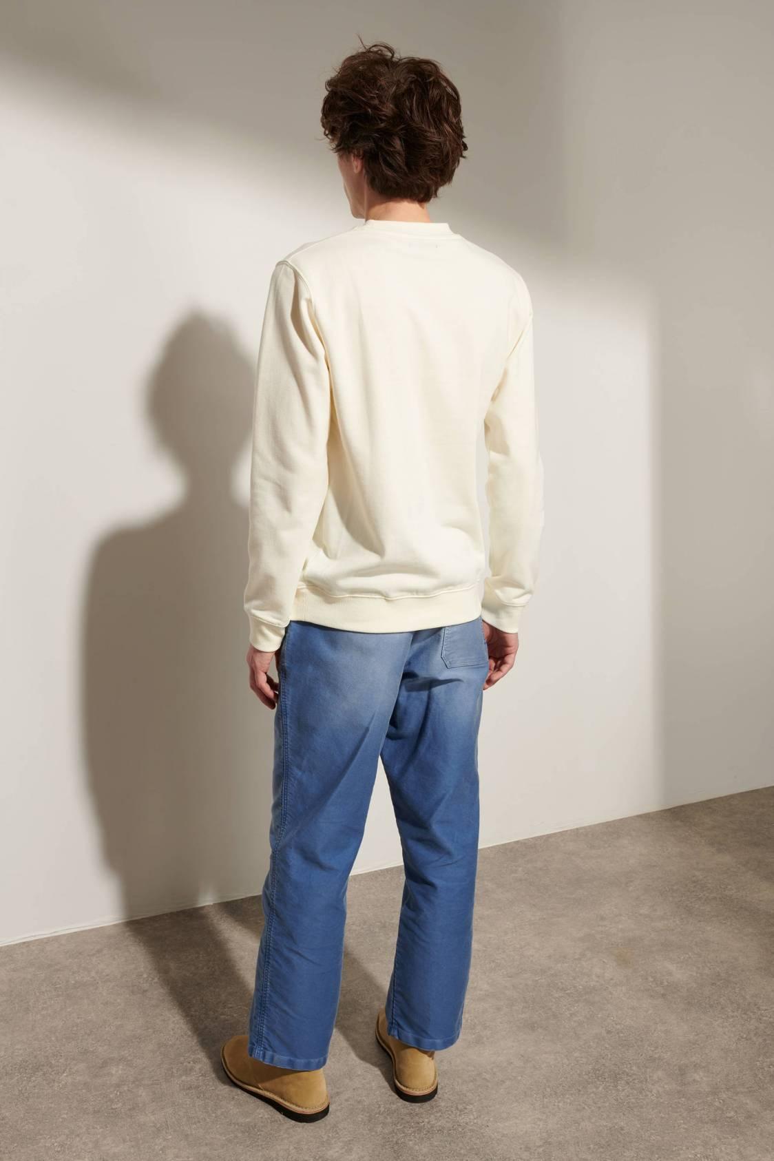 Sheep-embroidery Sweatshirt