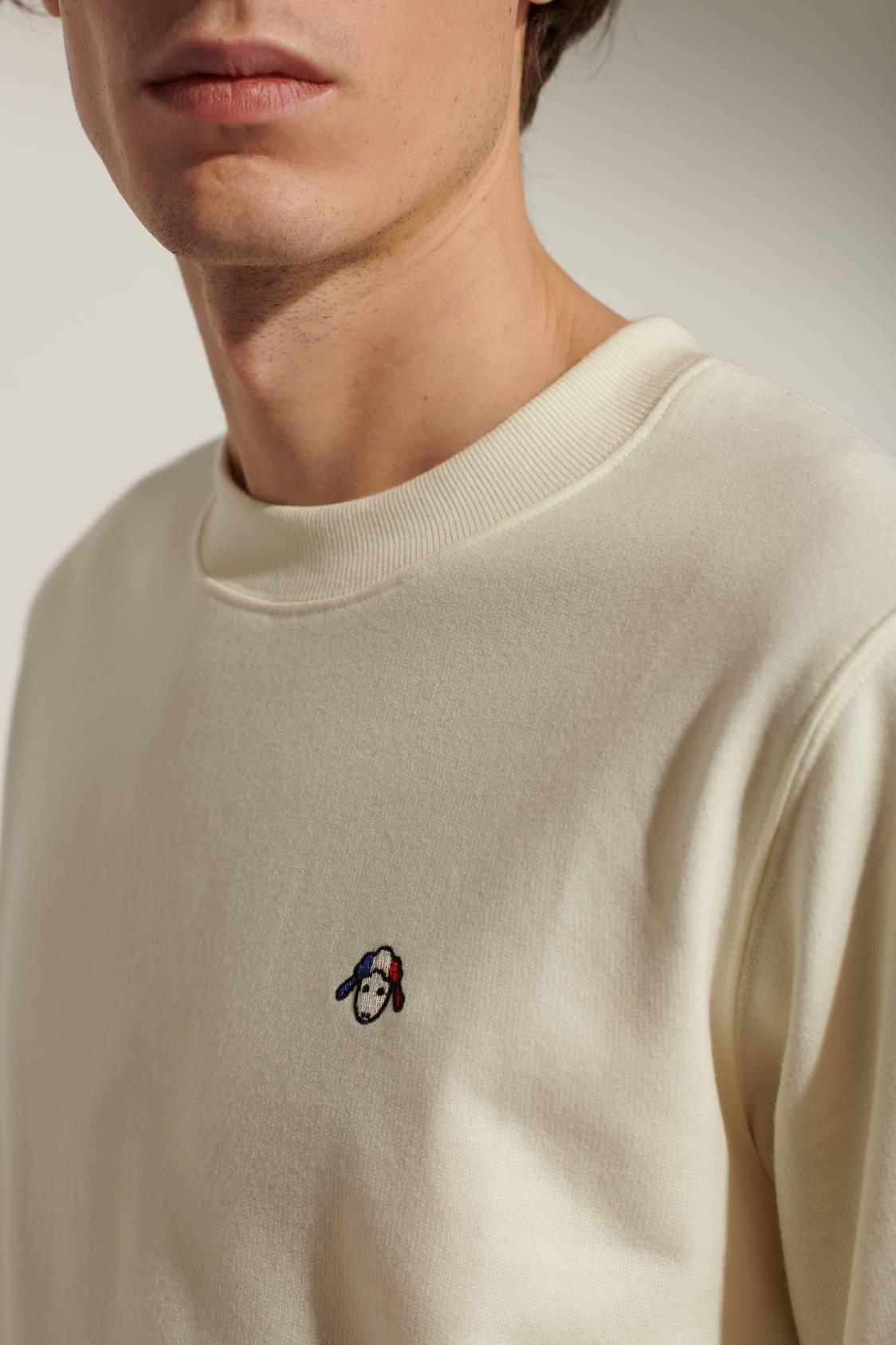 Sweatshirt mouton