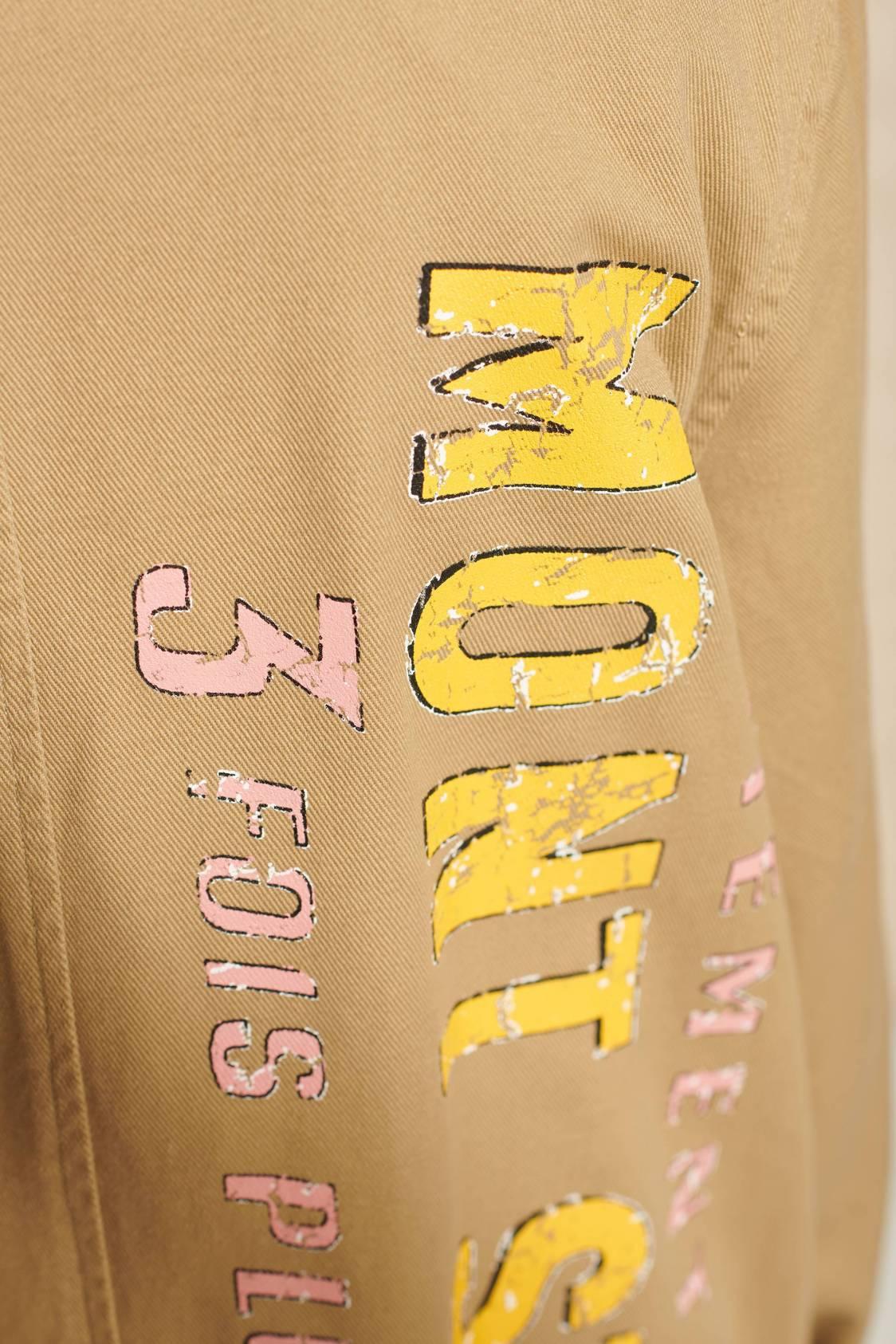Screen-printed Work Coat