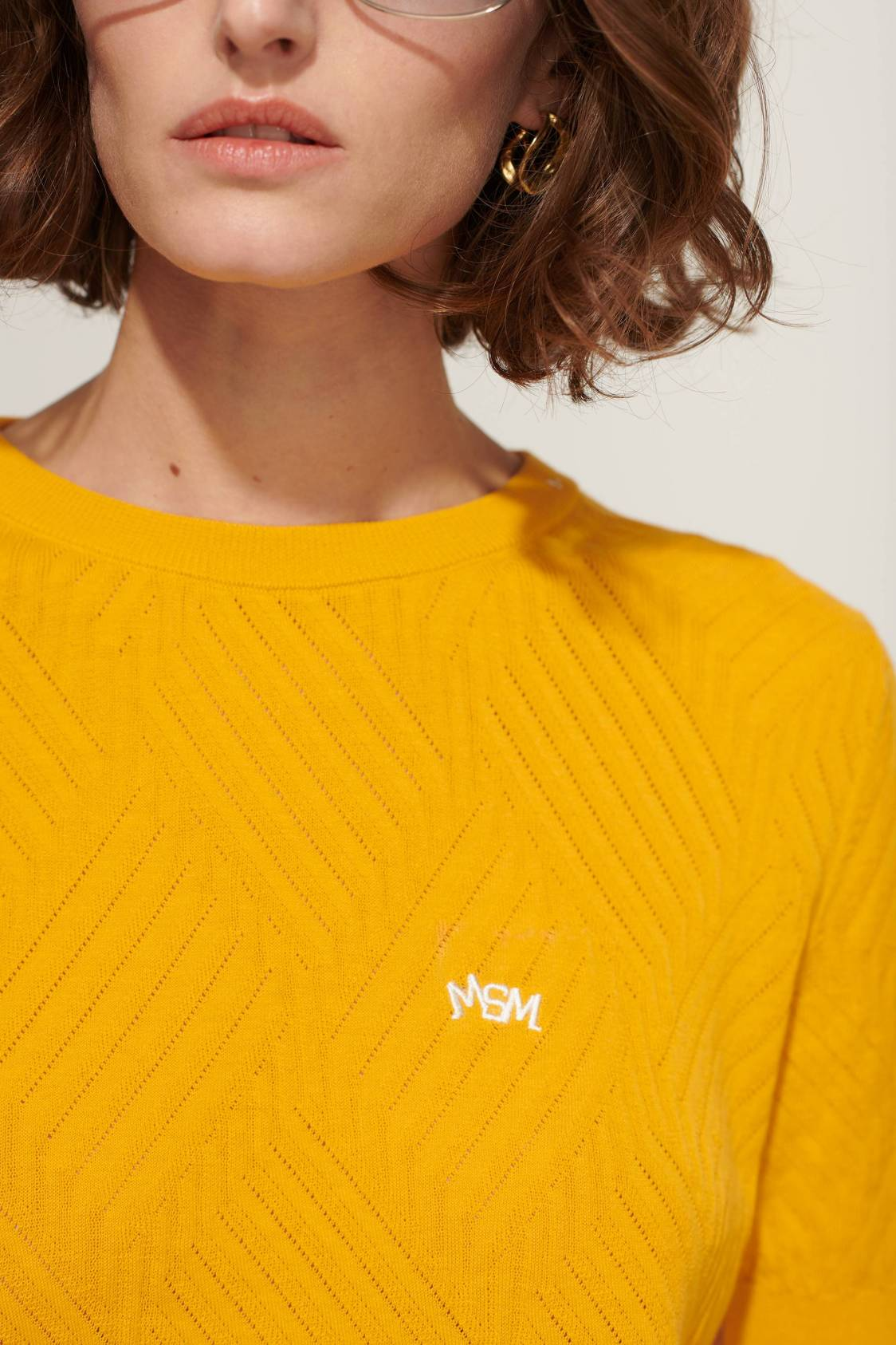 Pull T-Shirt maille graphique
