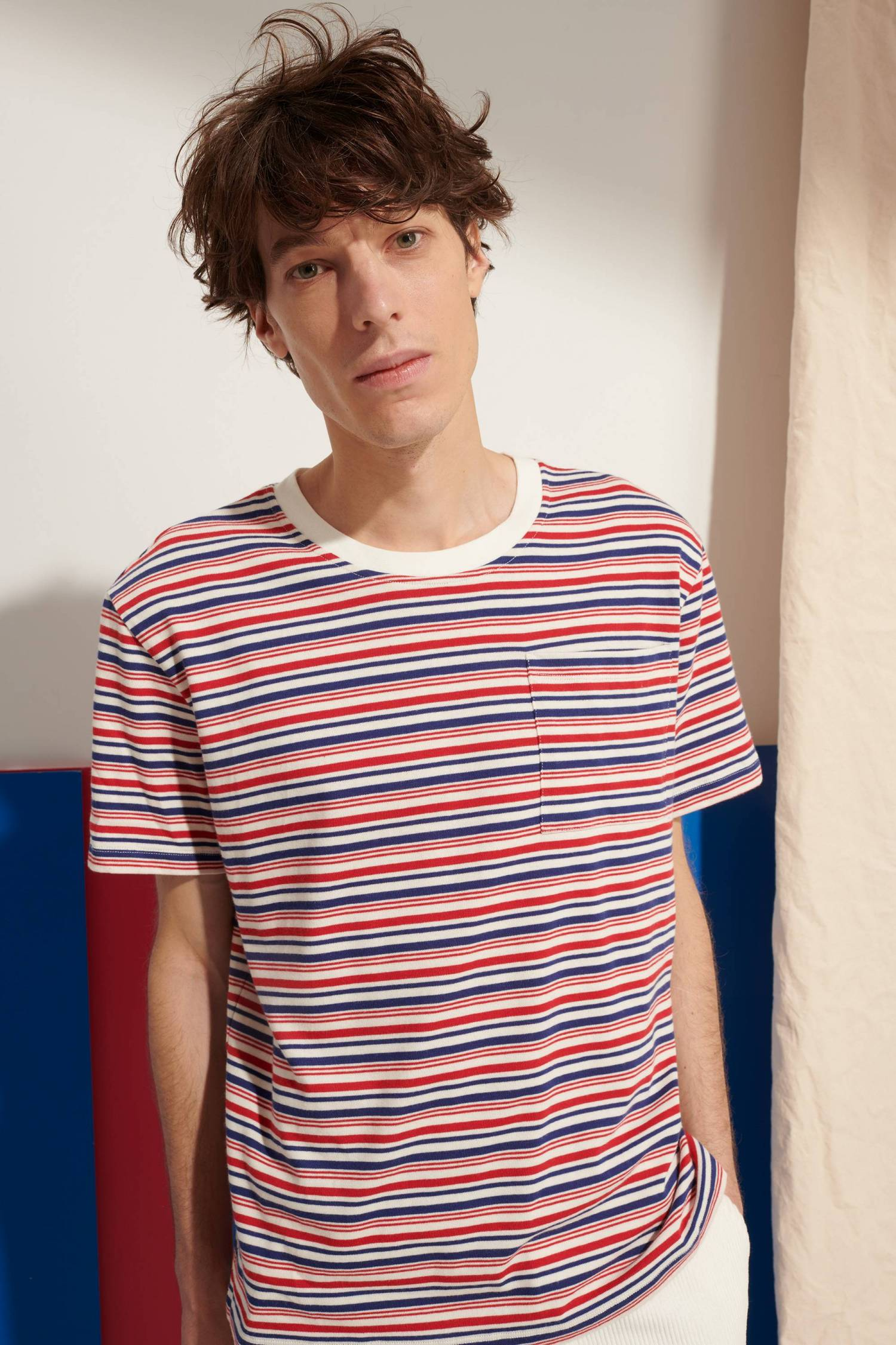 T-Shirt rayures tricolores