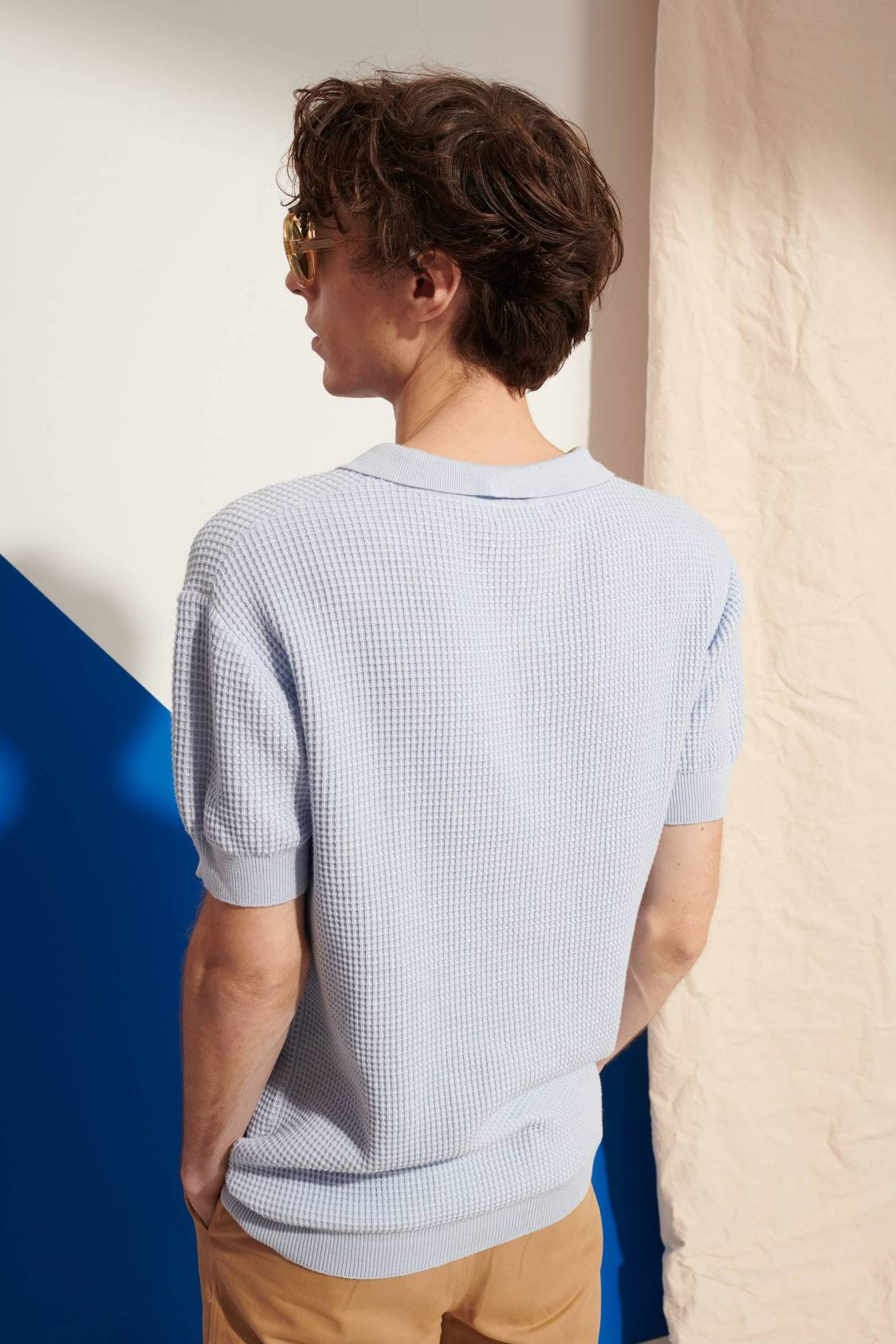 Élémentaire Honeycomb Polo Sweater