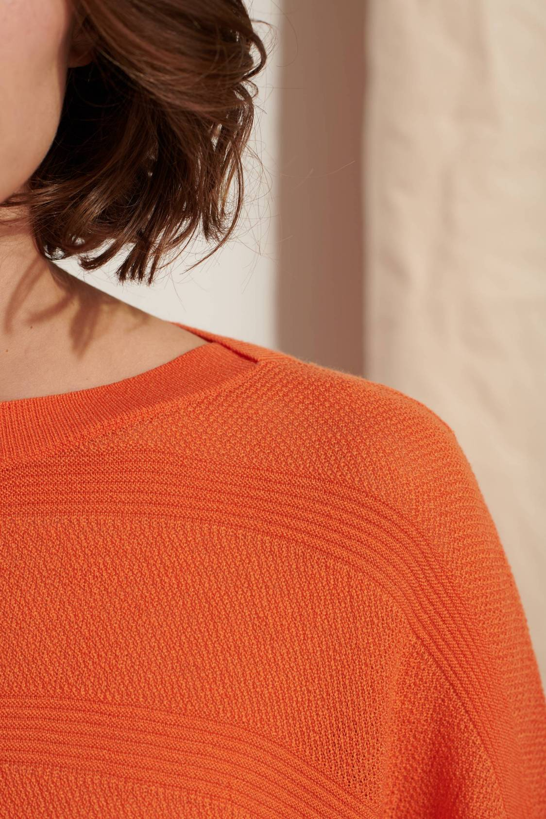 Textured-knit Sweater
