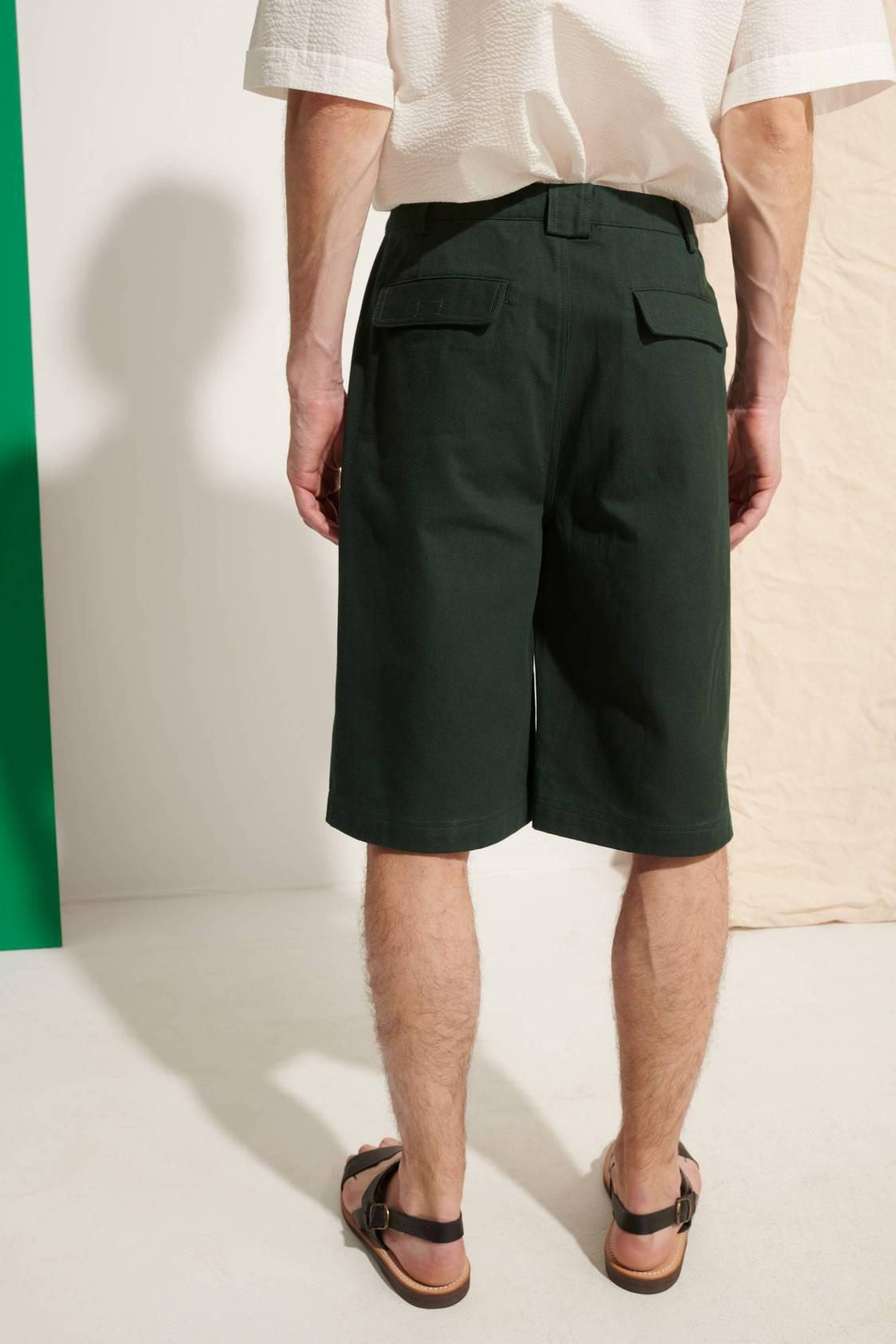 Large Heavy-twill Shorts