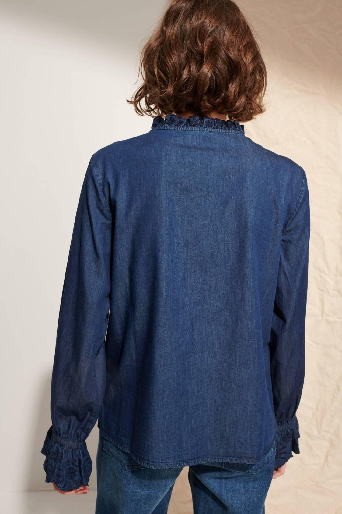 Chemise à fronces