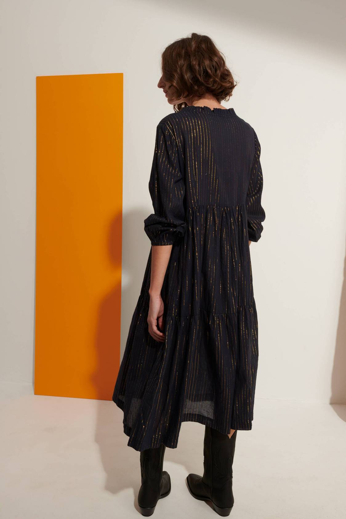 Long Lurex Dress