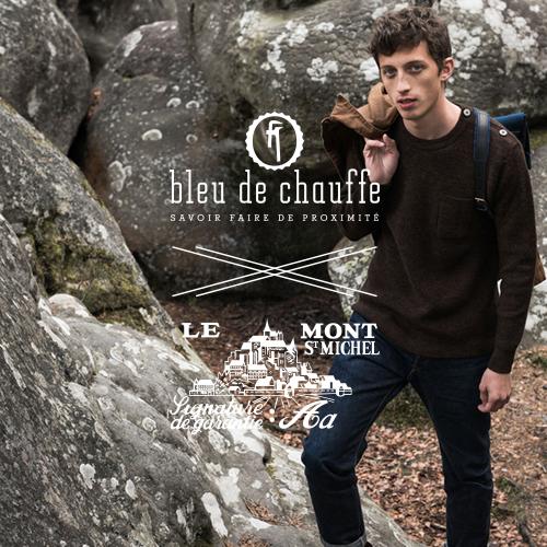 Le Mont Saint Michel x Bleu de Chauffe