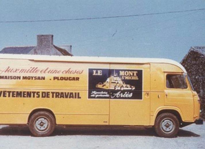 Le Mont St Michel Delivery Truck