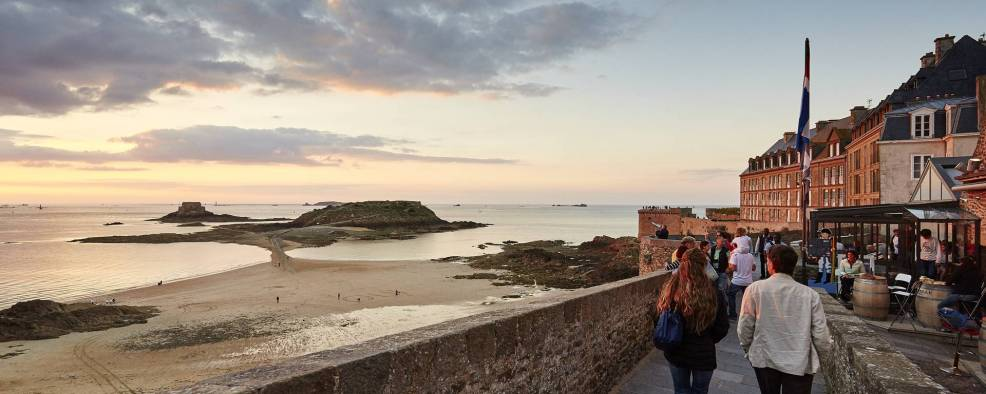An Indian summer in Saint-Malo